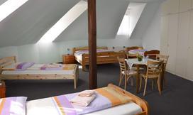Zimmer der Pension Fischamend